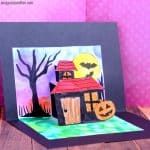 Halloween Pop Up Card Template for Kids to Make
