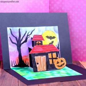 Halloween Pop Up Card Template