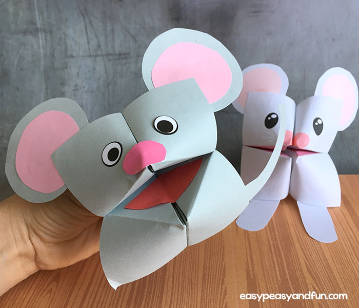 Mouse Cootie Catcher