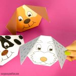 How to Make an Origami Dog