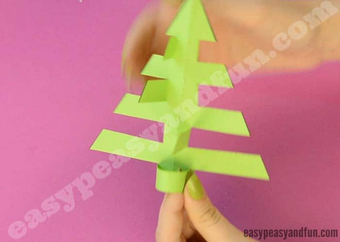 simplest 3d paper christmas tree simplest 3d paper tree print or make with 7153