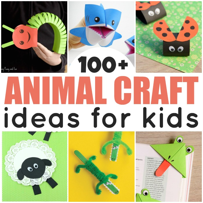 Animal Crafts for Kids - Easy Peasy and Fun