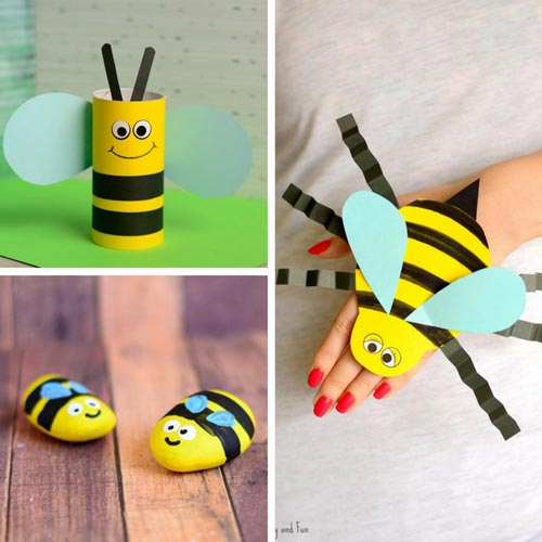 Bee Crafts for Kids to Make