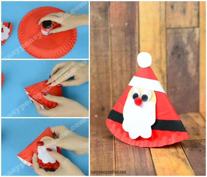Cute Rocking Paper Plate Santa  sc 1 st  Easy Peasy and Fun & Rocking Paper Plate Santa - Easy Peasy and Fun