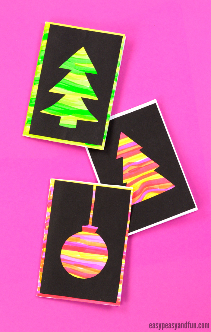 diy silhouette christmas cards easy peasy and fun. Black Bedroom Furniture Sets. Home Design Ideas