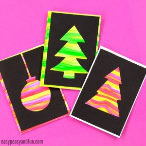 DIY Silhouette Christmas Cards