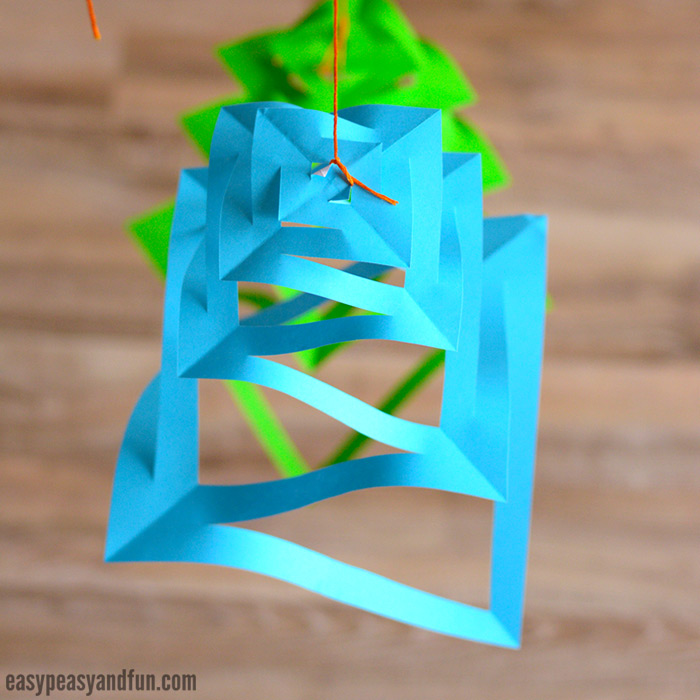 Paper Christmas Decorations Craft