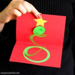 Spiral Christmas Tree Card