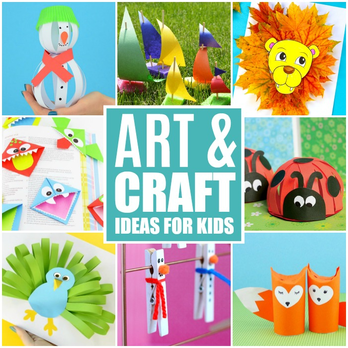 Crafts For Kids - Tons of Art and Craft Ideas for Kids to Make