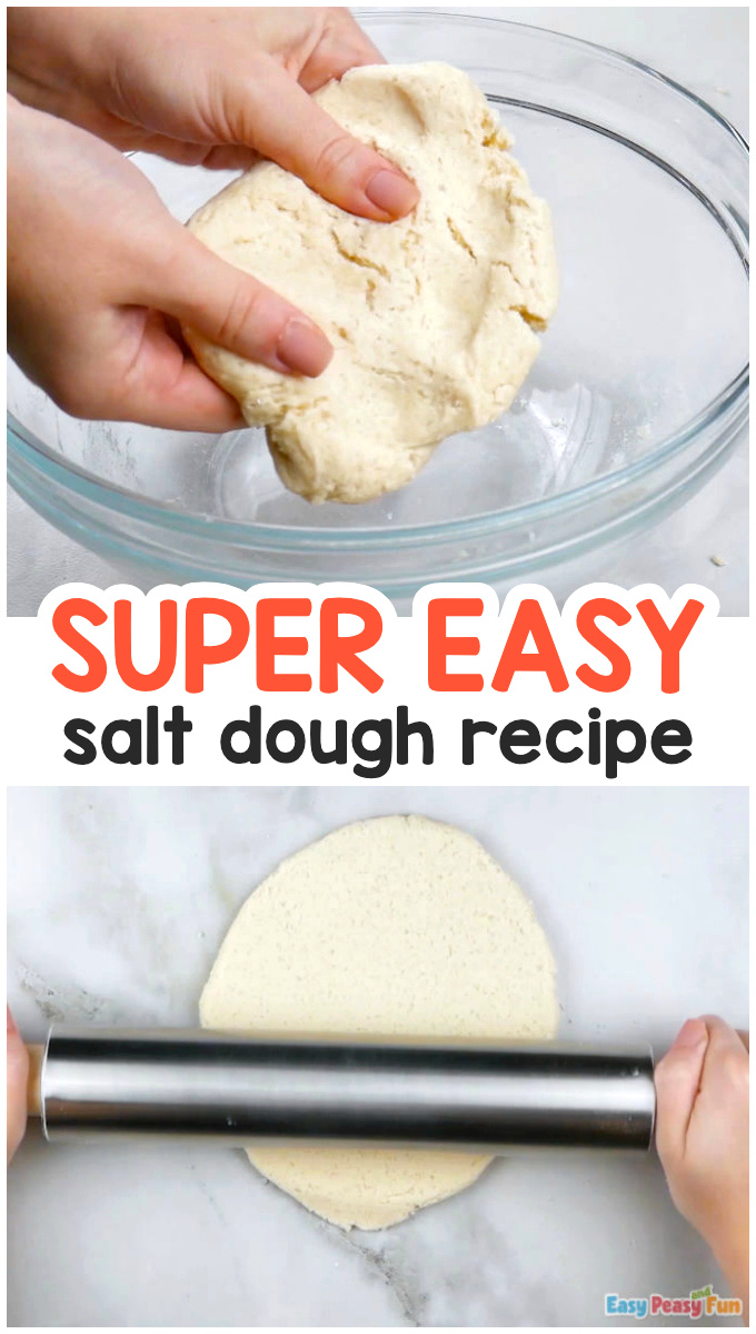 Easy Salt Dough Recipe for Kids