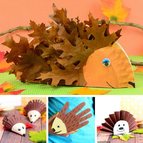 One Of Our Favorite Animal Crafts To Make Are Hedgehogs Hands Down Weve Got A Bunch Project Suitable For Preschoolers Kids In Kindergarten And Older