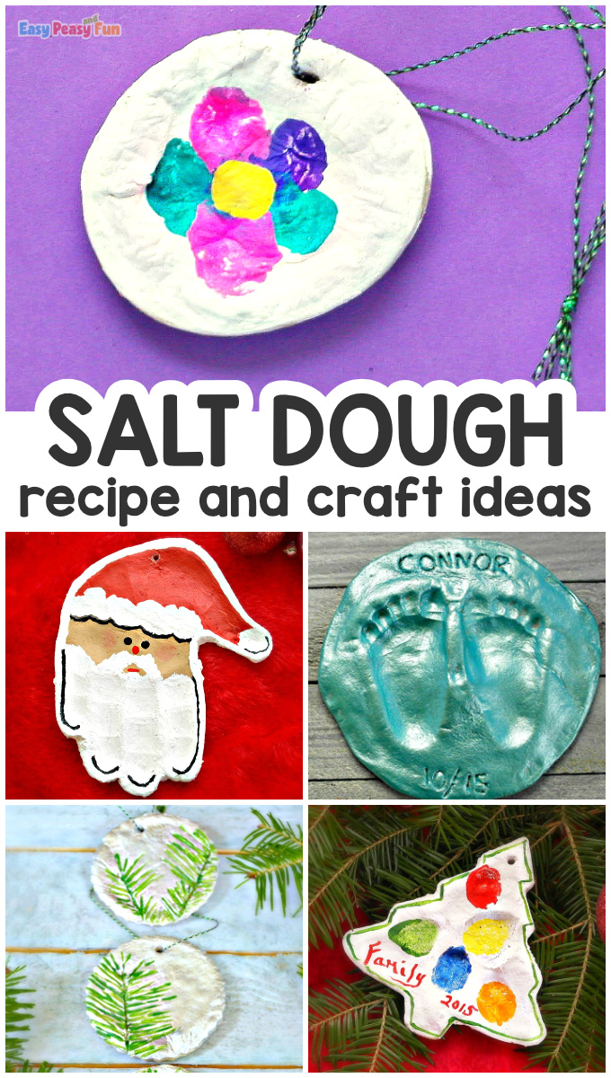 How to Make Salt Dough Recipe, Tips and Ornament Ideas
