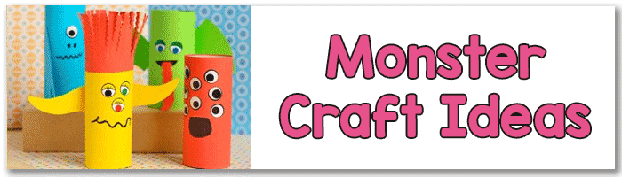 Monster Ideas for Crafting with Kids