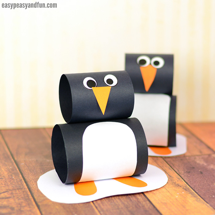 Penguin Paper Craft for Kids