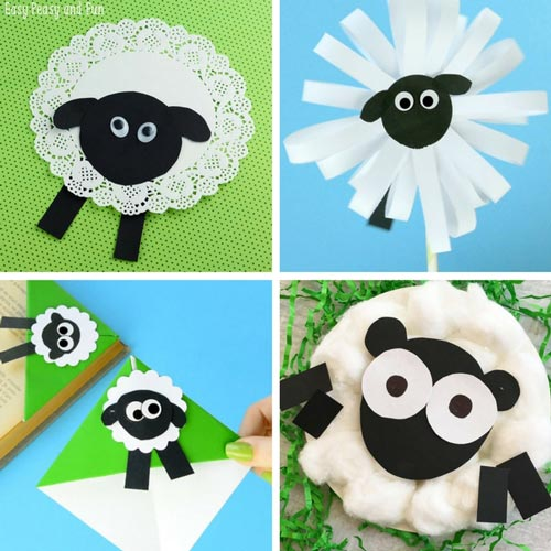 Sheep Crafting Ideas for Children