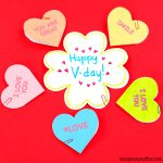 Conversation Hearts Valentines Day Cards