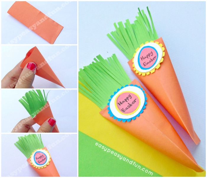Easter Carrot Treat Box Craft