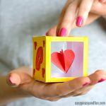 Heart Box Paper Craft Idea