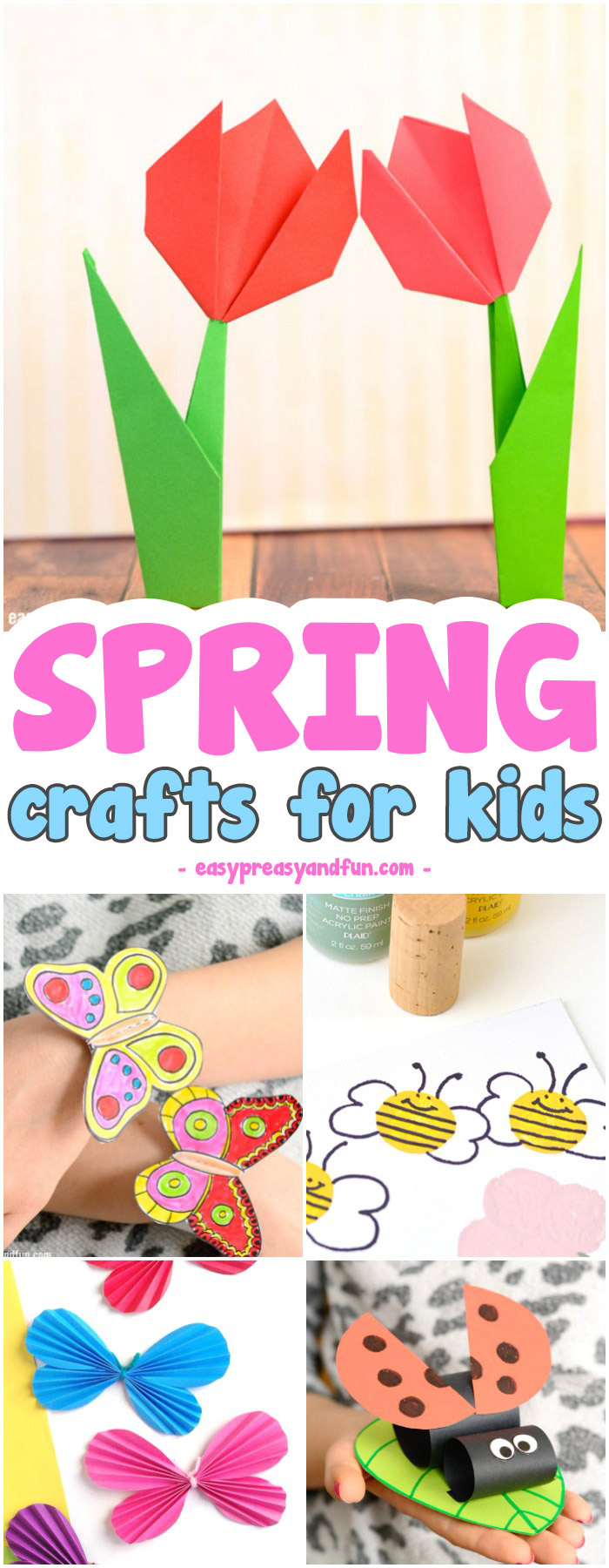 Super Fun Spring Crafts For Kids Craft Ideas And With Printable Templates