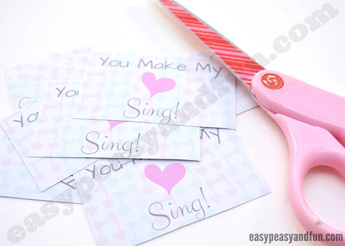 you make my heart sing valentines quot you make my sing quot valentines card from to 7949