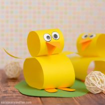 Construction Paper Chick Craft