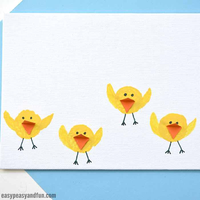 Easter Cork Chicks Craft