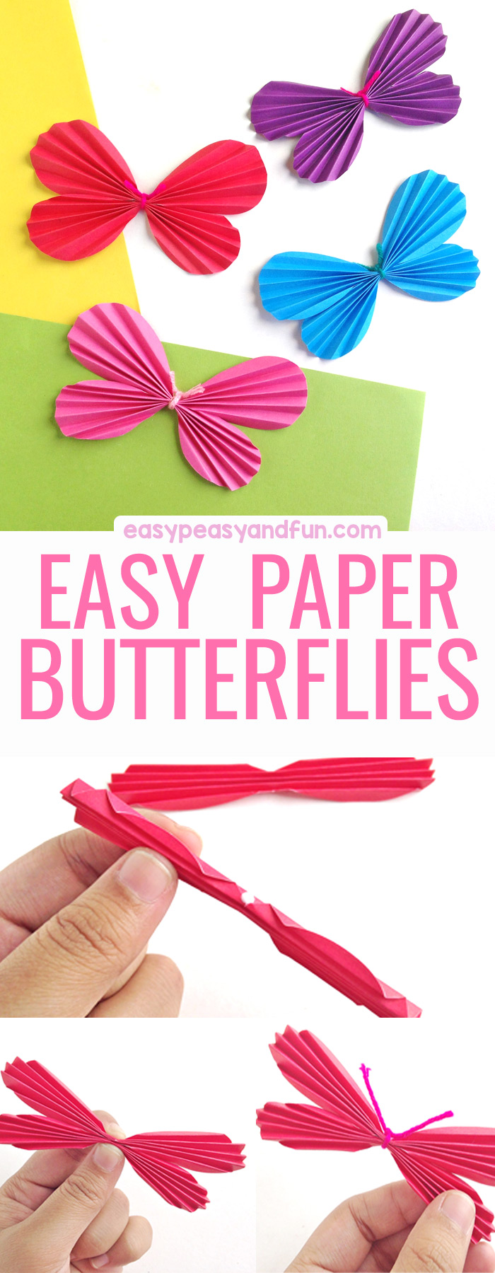 How to Make a Paper Butterfly