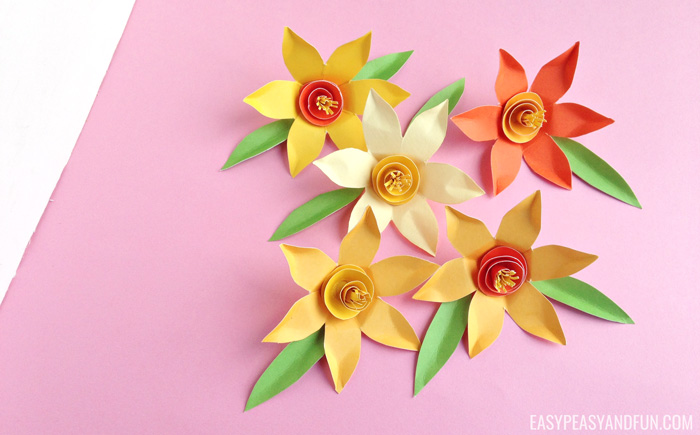 How to make paper daffodils easy peasy and fun save mightylinksfo Choice Image