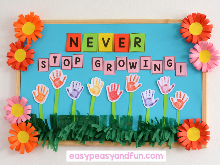 Spring Bulletin Board Ideas for Your Classroom - Easy Peasy ...