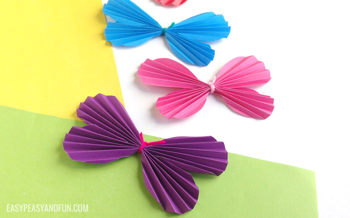 butterfly paper bracelets for kids how to make a paper butterfly template included easy 5972