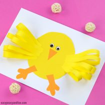 simple paper chick craft 25 easter crafts for lots of crafty ideas easy 5426