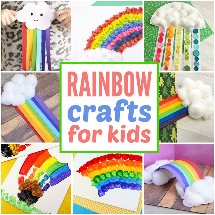 Simple Rainbow Crafts for Kids