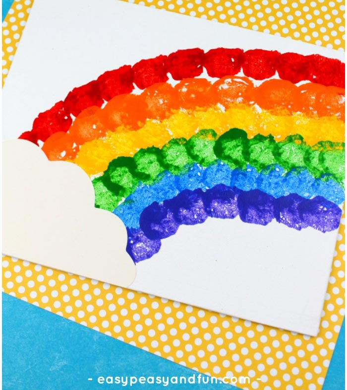 Rainbow Crafts For Kids Easy Peasy And Fun