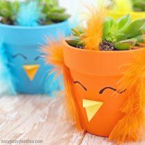 DIY Chick Planters