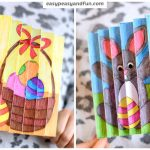 Easter Agamograph Template for Kids to Make
