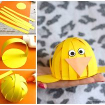 Simple Easter Construction Paper Craft