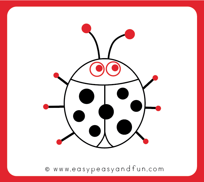 how to draw a ladybug easy peasy and fun