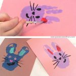 Handprint Bunny Art