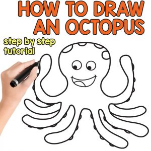 Octopus Directed Drawing Tutorial