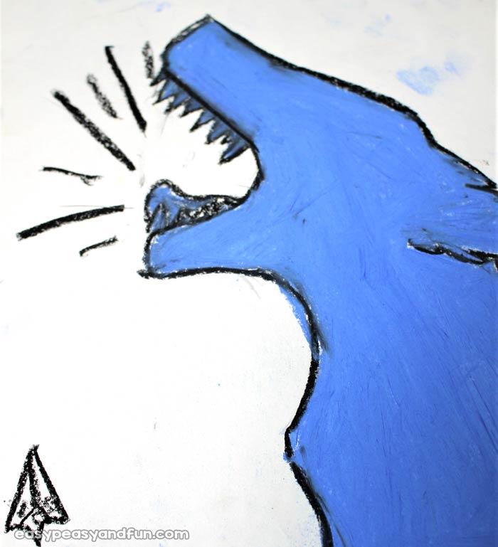 Pop Art Wolf