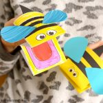 Printable Bee Puppet