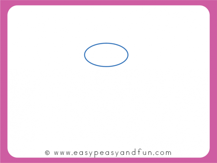 Start by Drawing an Oval