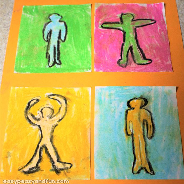 Wonderful Keith Harring Art Lesson for Kids