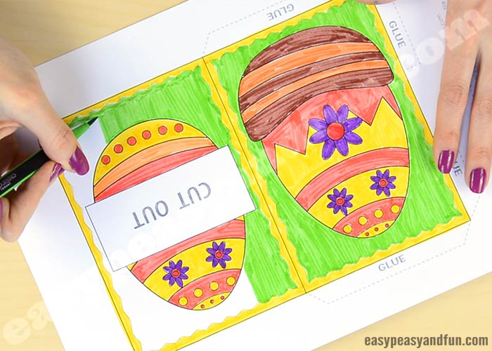 hidden message easter card message easter card easy peasy and 4662