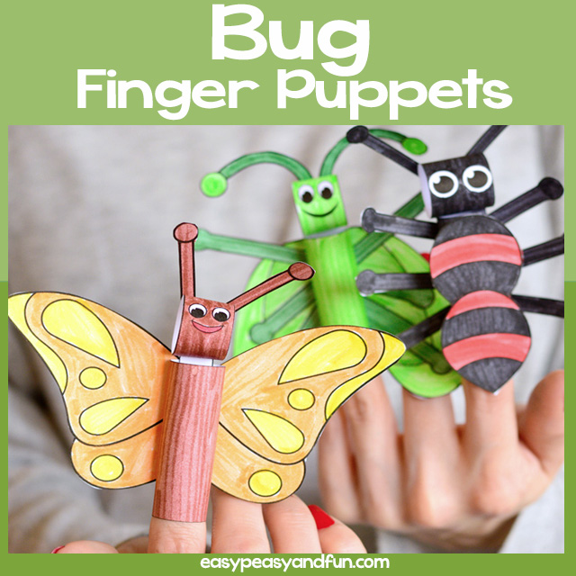 Bugs Finger Puppets