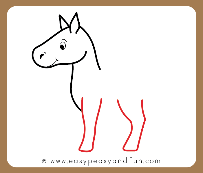 Cartoon Drawing Pictures Of Horses