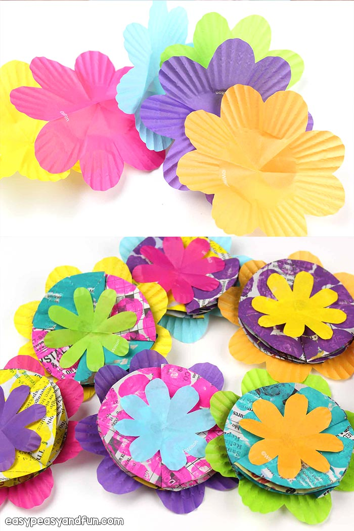 Make flower crafts