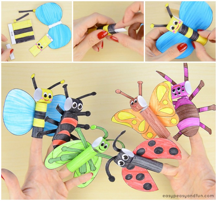 Printable Finger Puppets Craft