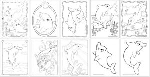 Coloring Pages -100+ Coloring Sheets for the Whole Family