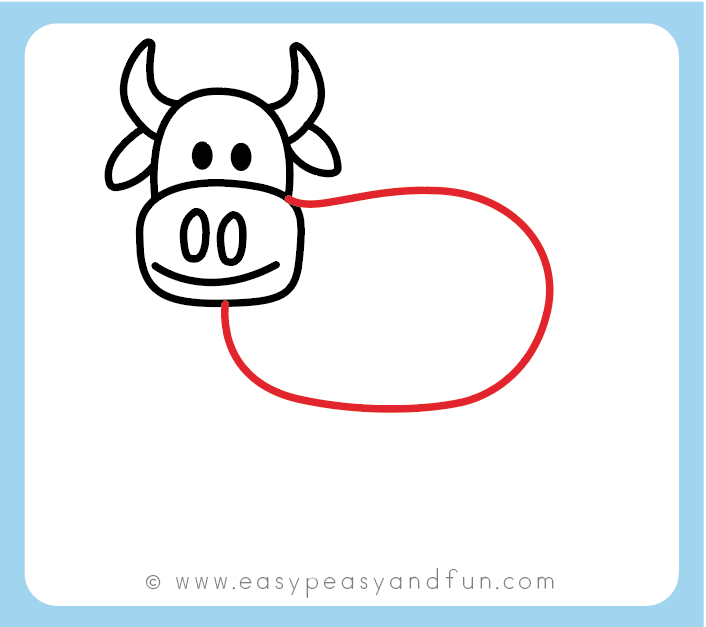 Draw The Cows Body